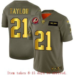 Washington Redskins #21 Sean Taylor Jersey Olive